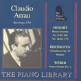 Claudio Arrau - The Piano Library
